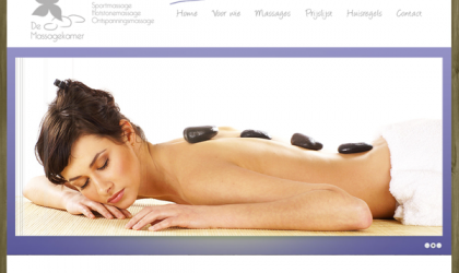 Website Massagepraktijk