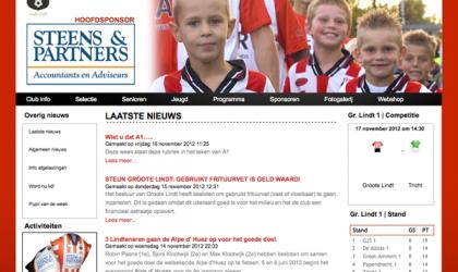 Websitebouw Voetbalclub